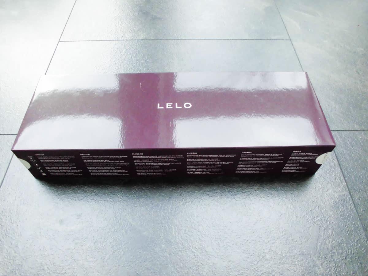 Lelo Elise 2 purple Verpackung