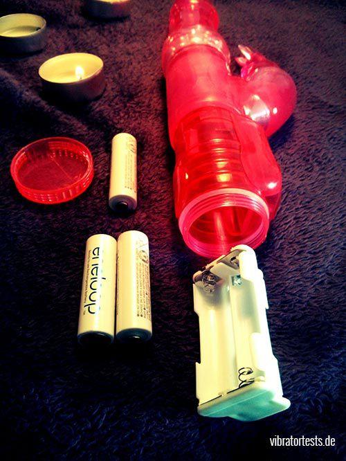 Lovehoney Jessica Rabbit 2.0 Batterien Batteriengehäuse