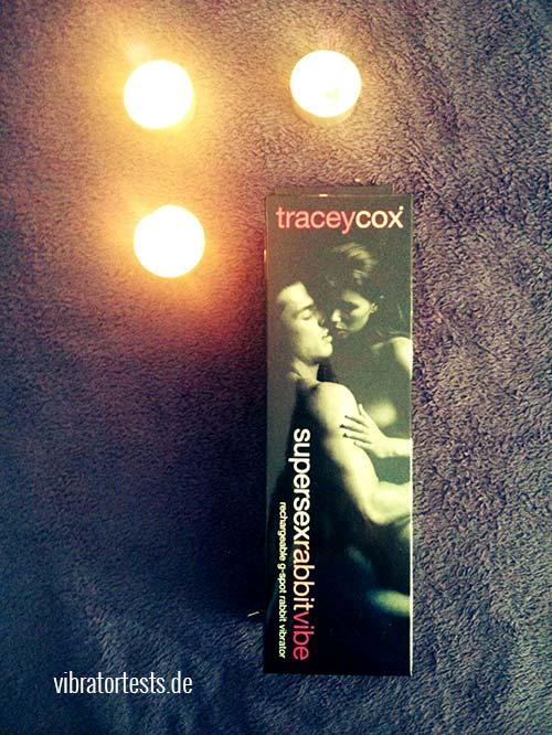 Tracey Cox Supersex Rabbit Vibrator Verpackung