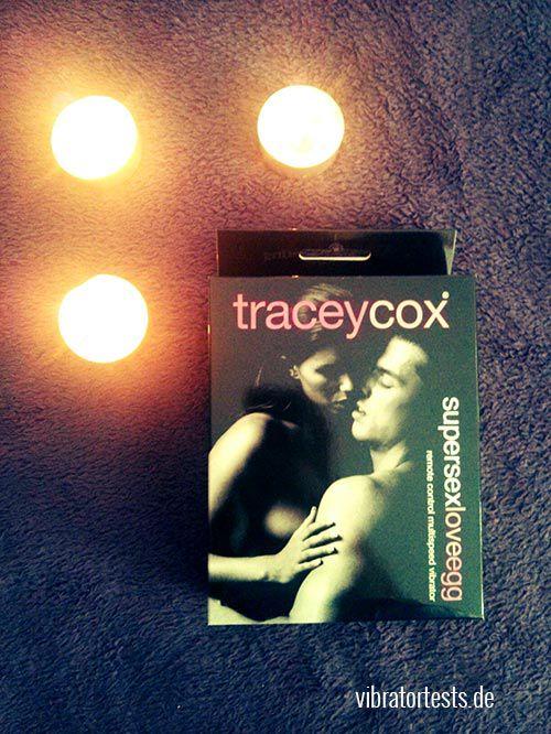 Verpackung vom Tracey Cox Supersex Liebesei mit Fernbedienung