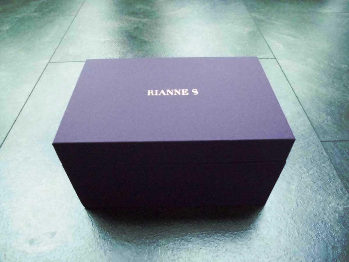 Die Box kannst du später als Aufbewahrungskiste für andere Dinge nutzen