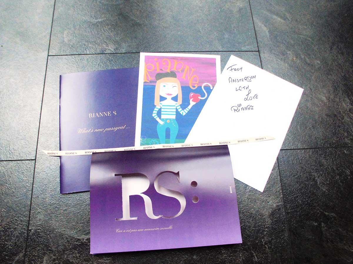 Sehr liebevoll und persönlich: Lieferung des Rianne S Matryoshka mit persönlicher Nachricht