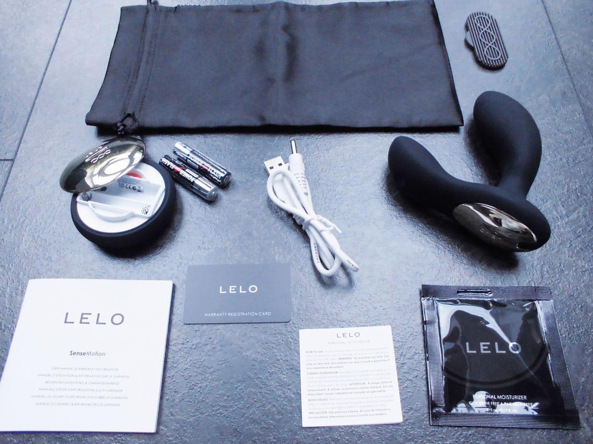 Lelo Hugo Test Schwarz Gesamtübersicht