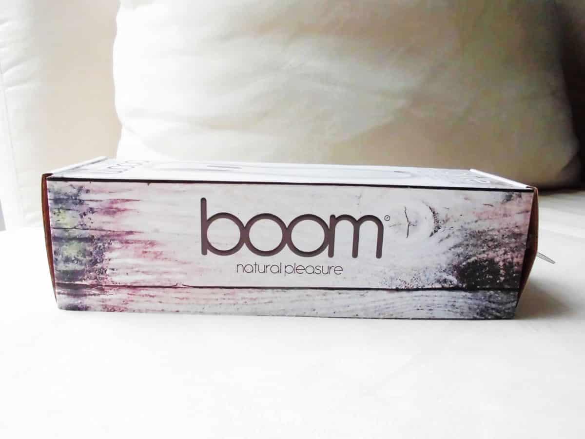 Olive von Boom by Shots seitliche Verpackung