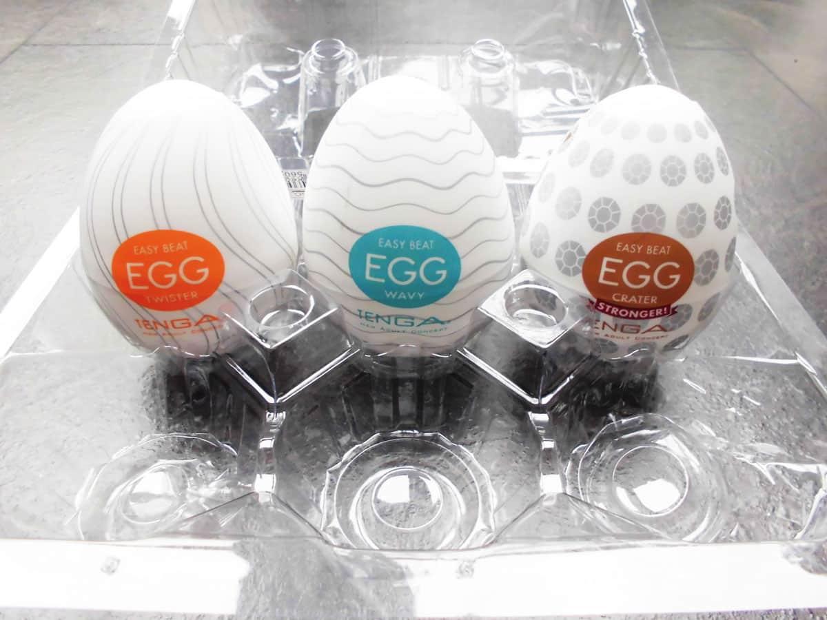 Tenga Egg 6er Pack Gesamtansicht