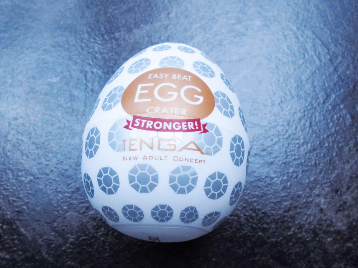 Tenga Egg Crater braun