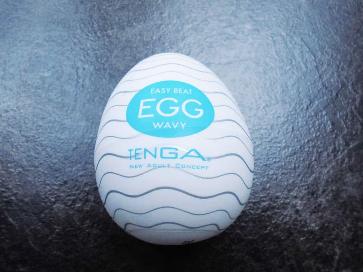 Tenga Egg Wavy türkis